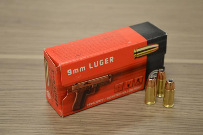 Geco 9mm Luger JHP