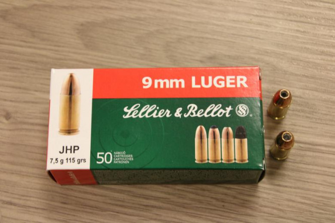 Sellier & Bellot 9X19 JHP