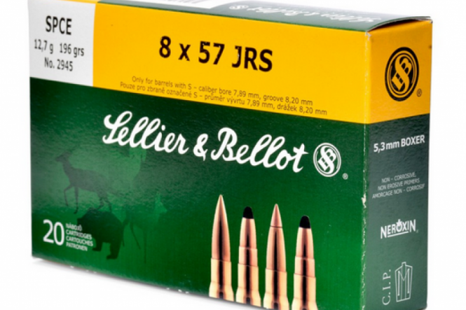 Sellier & Bellot 8 x 57 JRS